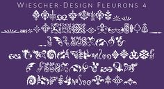 LAST DAY: Add Ornamental Elegance with the Fleuron Font - only $12! - MightyDeals