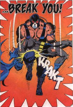 Bane Breaks the Bat in Kinghtfall: Part One