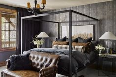 40+ Masculine Bedroom Ideas & Inspirations | Man of Many