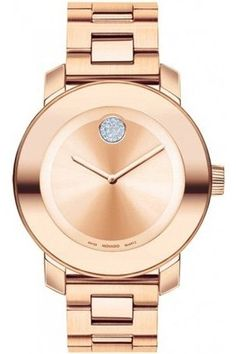 movado rose gold watch women's | Movado Bold Rose Gold Analog Medium Womens Watch 3600086 | eBay