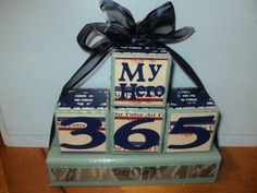 AirForce Deployment Countdown Blocks by signsandsuch on Etsy, $17.00
