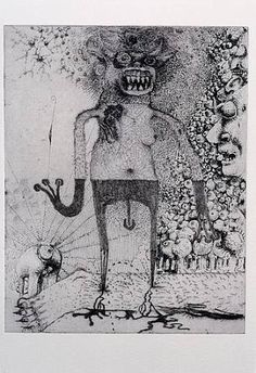 Jake & Dinos Chapman, Exquisite Corpse (Rotring Club) XV, Etching with Rotring pen overdrawing, x cm Jake And Dinos Chapman, Jake Chapman, Exquisite Corpse, Art Brut, Artwork Images, Horror, Collaborative Art, Portraits, Outsider Art