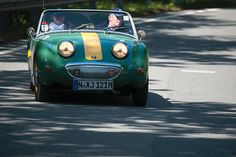 Austin Healey Sprite from the 1950s. My favorite car!