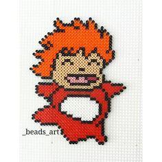 Ponyo hama beads by _beads_art