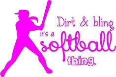 """Softball Wall Lettering 