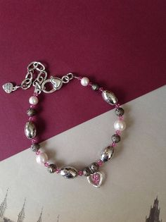 Pink Collar for Pets Pink Dog Necklace Pearl Pet Collar