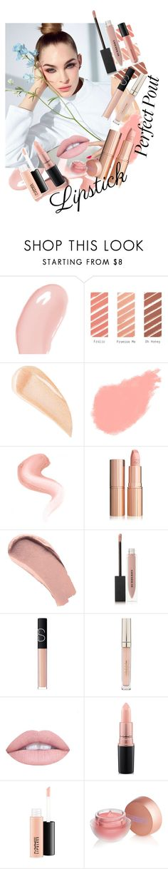 """""""Nude Pink Lips"""" by pokeygirlllll ❤ liked on Polyvore featuring beauty, Christian Dior, MAC Cosmetics, Kevyn Aucoin, Bobbi Brown Cosmetics, Burberry, NARS Cosmetics, Stila, L.A. Girl and Lipstick Queen"""