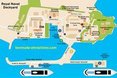 Kings Wharf Bermuda Dockyard Map