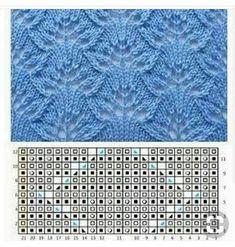 Diy Crafts - Knitting stitches sweaters beautiful 37 new ideas Lace Knitting Patterns, Knitting Stiches, Knitting Charts, Easy Knitting, Stitch Patterns, Knitting Ideas, Drops Design, Diy Crafts Knitting, How To Start Knitting
