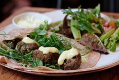 Fun Twist on Falafel: Try Black eye peas! Photo: Liz Rueven