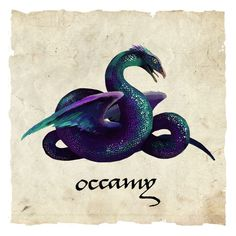 Fantastic Beasts and Where to Find Them - Occamy