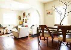 Living room/hardwood