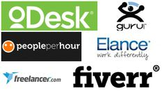 List of freelance websites with page rank