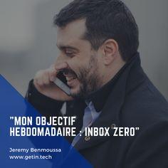 Mon objectif hebdomadaire : inbox zero !