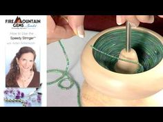 Video Tutorial - How to use the Speedy Stringer™ - Fire Mountain Gems and Beads