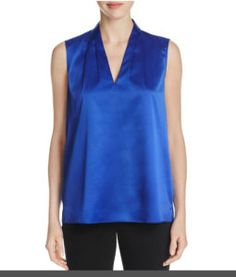T Tahari Women's Edie Blouse Price: $41.66 – $91.80 & Free Return on some sizes and colors