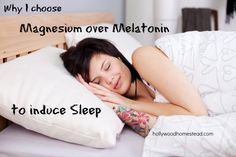 NATURAL SLEEP REMEDY Why I choose Magnesium over Melatonin to Induce Sleep --interesting. What's this about melatonin constructing blood vessels? Bad for hypertension then? Insomnia Remedies, Natural Sleep Remedies, Natural Sleep Aids, Health And Nutrition, Health And Wellness, Holistic Nutrition, Nutrition Guide, Magnesium For Sleep, Magnesium Oil
