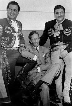 Tomas Méndez, Agustín Lara y José Alfredo Jimenez.