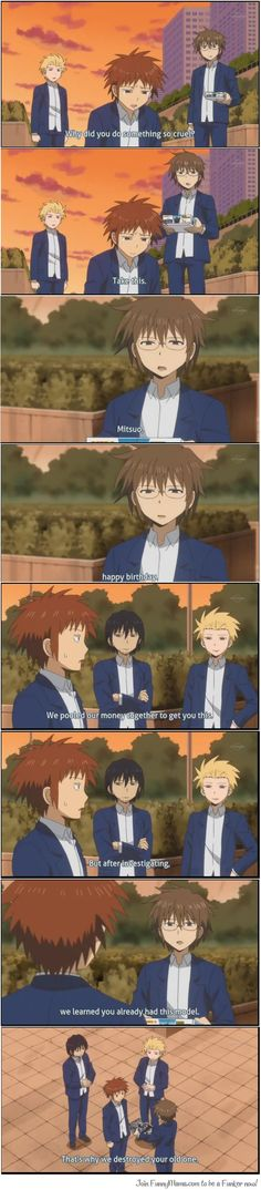 Daily Lives of High school Boys (Danshi Koukousei no Nichijou).. No se si reir o llorar de esta situacion