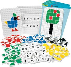 Amazon.com: LEGO Education DUPLO Numbers and Mosaics Set 779531 (352 Pieces): Toys & Games