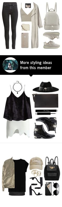 """""""Yeezy"""" by baludna on Polyvore featuring adidas Originals, MICHAEL Michael Kors, H&M, Cheap Monday, Case-Mate and NARS Cosmetics"""