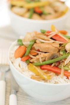 Stir fry sauce and veggies recipe.    Best stir fry recipe found to date.    Just don't leave out the chilis.