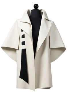 Dice by Teresa Maria Widuch (Ultrasuede Jacket) Look Fashion, Fashion Details, Hijab Fashion, Winter Fashion, Fashion Dresses, Womens Fashion, Fashion Design, Fashion Trends, Look Boho Chic