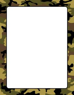 Camouflage page border. Free downloads at http://pageborders.org/download/camouflage-border/