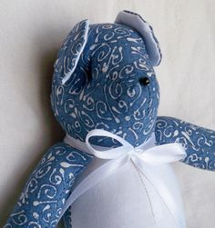 Andre the Little Teddy Bear by ellemardesigns on Etsy, $10.00