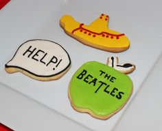 Beatles Cookies by Violeta Glace