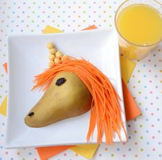 Kix unicorn - I would make it a horse instead of a unicorn and eliminate the cereal