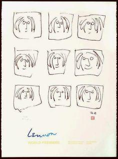 BEATLES MAGAZINE: THE ART OF JOHN LENNON IN HOUSTON