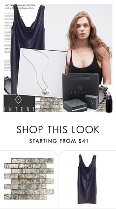"""""""INTENT.CO.UK"""" by gaby-mil ❤ liked on Polyvore featuring COS, Silver and intentjewellery"""