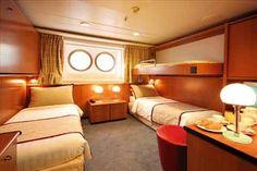 Costa Allegra, Exterior Stateroom.  South China Sea Cruise