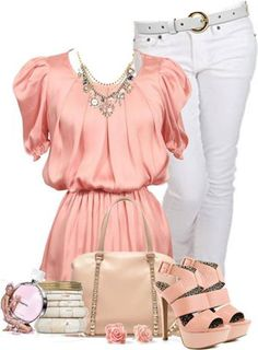 omg this is MY style..pretty in pink