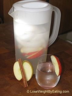 Detox Water Recipes for Health and Weight Loss - The Original Day Spa Apple Cinnamon Infused Water Recipe - Detox Water Recipies For Weight Loss, For Tummy Shrinking, For Skin, For Cleanses, For Fat Burning, And That Are Simple And Have Huge Health Benefits. Ideas Can Include Strawberry, Lemon, And Any Fruit. These Are DIY, Step By Step, Simple, Easy, And Work for Weight Loss And Acne. - https://www.thegoddess.com/detox-water-recipes-health-weight-loss