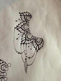 Mandala chandelier