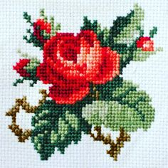 Hand Sewing Leather Patches On Jeans Beaded Cross Stitch, Cross Stitch Rose, Cross Stitch Flowers, Cross Stitch Charts, Cross Stitch Designs, Cross Stitch Patterns, Blackwork Embroidery, Hand Embroidery Patterns, Cross Stitch Embroidery