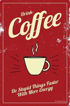 coffee pop art - Pesquisa Google Art Prints Online, Coffee Poster, Popular Art, Buy Posters, Stickers, Vintage Coffee, Coffee Drinks, Decorative Items, Pop Art