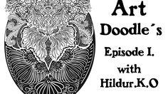 Art Doodles with Hildur.K.O Episode 1   #illustration  #drawing  #youtube #doodles # abstract # timelapse  #artwork #inspiration #meditation