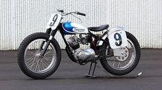 1967 Triumph Gary Nixon #9 Short-track bike