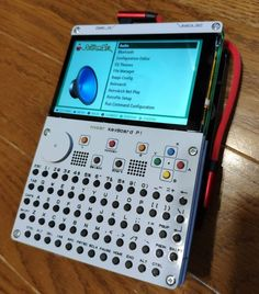 Hyper Keyboard Pi kit turns a Raspberry Pi into a handheld PC (and game console) - Liliputing Electronics Gadgets, Electronics Projects, Tech Gadgets, Cool Gadgets, Computer Gadgets, Computer Programming, Design Your Own Case, New Technology Gadgets, Medical Technology