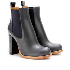 Chloe Bernie Leather Boots: $952