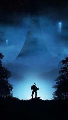 Halo. Conquering hero. Halo Game, Halo 5, Halo Reach, Halo Backgrounds, Wallpaper Backgrounds, Wallpapers, Odst Halo, Halo Tattoo, Halo Spartan
