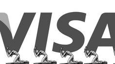 """Anti-logo Visa - copa 2022  O novo logo traz dois chicotes formando o símbolo dos """"arcos dourados"""" ou o M da marca."""