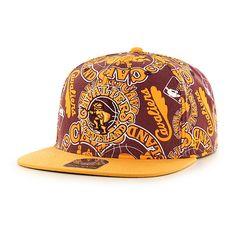 Cleveland Cavaliers Bravado Captain White 47 Brand Adjustable Hat