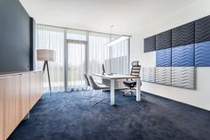 Office in Salzburg furnished with NOTI Mishell chairs