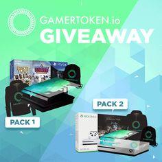 Enter This GamerToken: Item Marketplace, In-Game Rewards & Functional Prototypes - Giveaway!