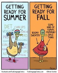 Getting ready for summer and fall