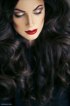 MY HAIRSTYLES - Dark mystic....